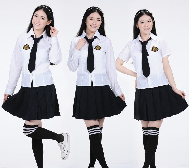 High school uniform for girls