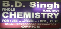 B.D SINGH BY WHOLE CHEMISTRY