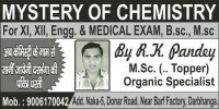 MYSTERY OF CHEMISTRY