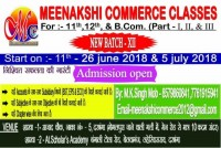 MEENAKSHI COMMERCE CLASSES