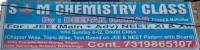 S M CHEMISTRY CLASSES