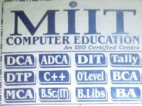 MIIT COMPUTER EDUCATION