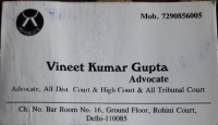 Vineet Kumar Gupta Advocate