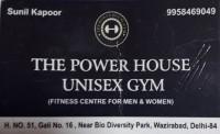 THE POWER HOUSE UNISEX GYM