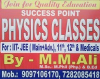 SUCCESS POINT PHYSICS CLASSES