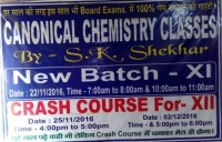 CANONICAL CHEMISTRY CLASSES